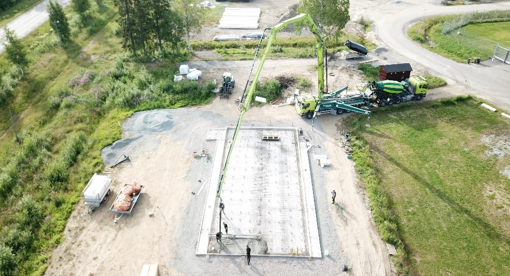 Construction of data center prototype starts in Boden