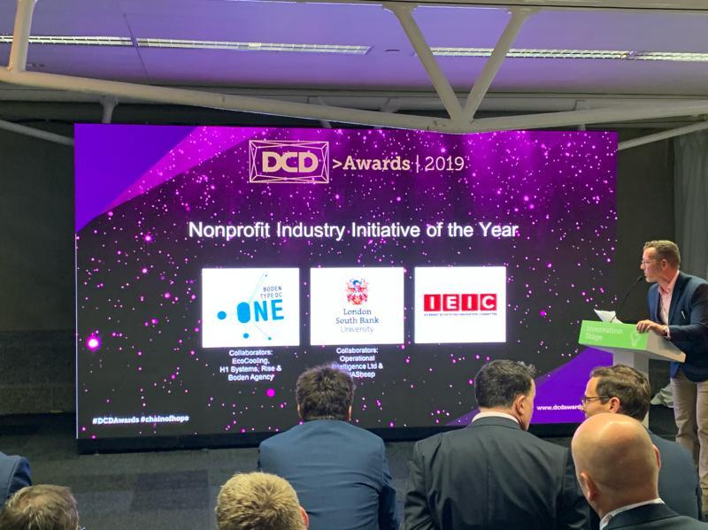 Boden Type DC shortlisted for DCD Global Awards 2019